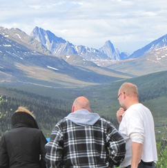 Tombstone Mountains, Dempster Highway, Yukon